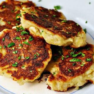 Mini Potato Pancakes With Green Garlic And Chives Recipes — Dishmaps