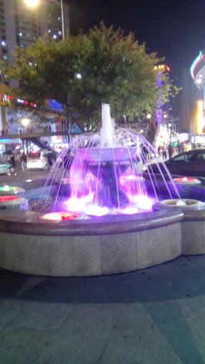 大华酒店喷泉