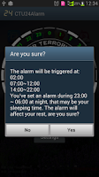 Screenshot of CTU 24 Alarm (Free)