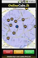 Screenshot of Online Cabs - Taxi Sri Lanka