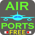 Airport codes FREE icon