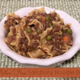 Salsbury Noodle Bowl and it Can be Gluten Free