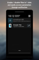 Screenshot of Bluelight Filter License Key