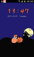 Screenshot of Pepe-halloween Go locker theme