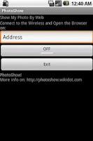 Screenshot of PhotoShow