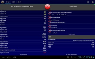 Screenshot of Mobilscan - your OBD tool