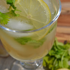 Lemon Ginger Ice Tea