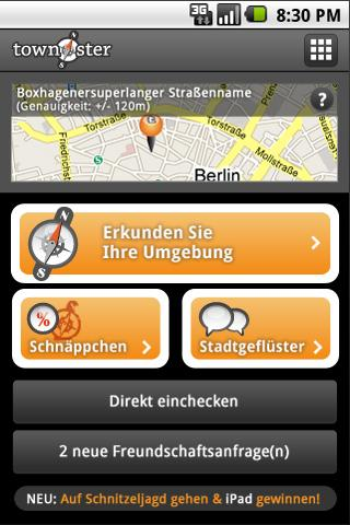 Berlin Townster - Freizeit App