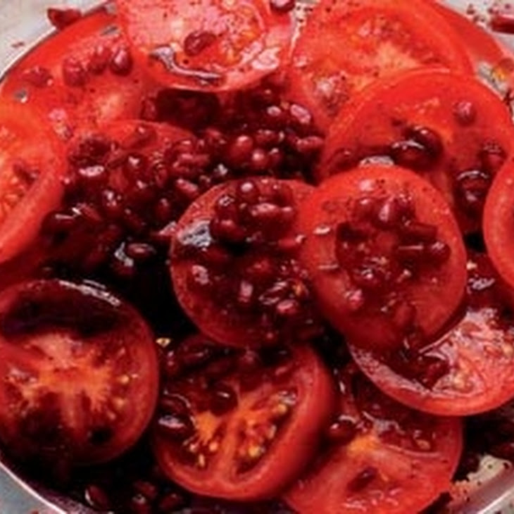 Tomato, Pomegranate And Sumac Salad Recipe | Yummly