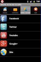 Screenshot of RADIO ESTACAO GOSPEL