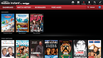 Screenshot of Redbox Instant for Google TV