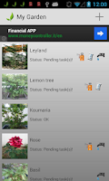 Screenshot of Plantissimo : Plant Manager