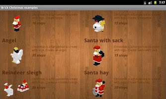 Screenshot of Brick Christmas examples
