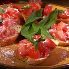 Tomato and Anchovy Bruschetta