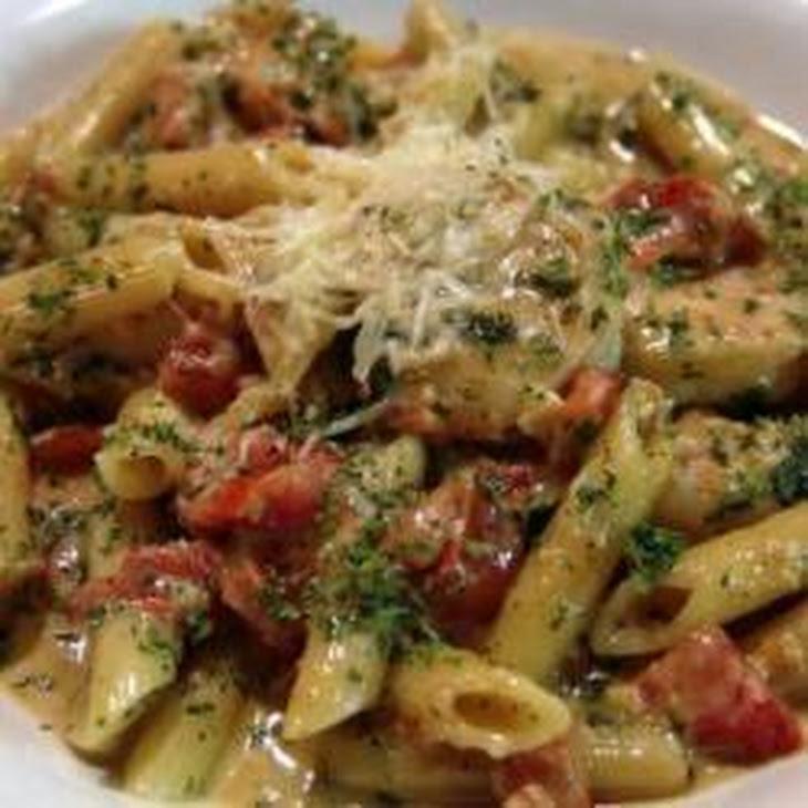 Chicken Pesto Pasta Recipe | Yummly
