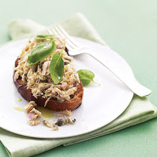 Open-Faced Tuna Sandwich