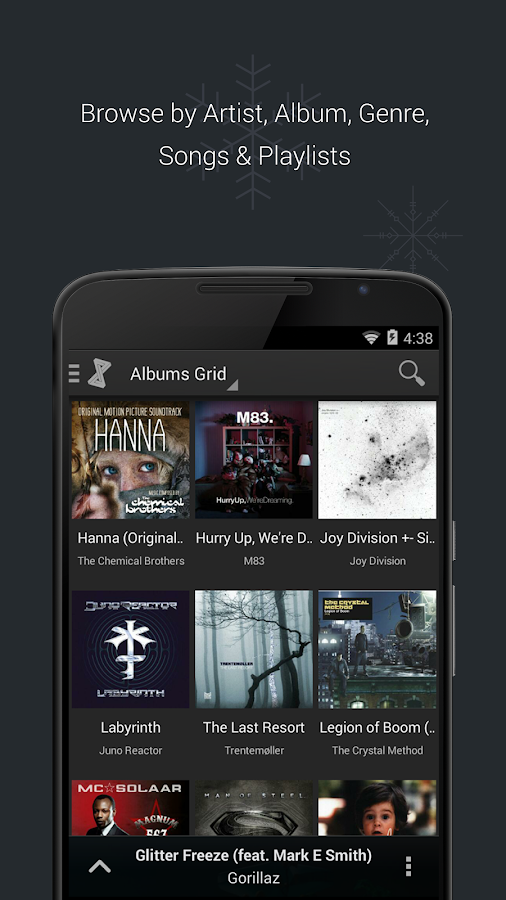 doubleTwist Music Player, Sync Screenshot 1