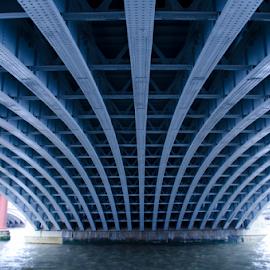 Blackfriar Bridge by Sanil Photographys - Buildings & Architecture Bridges & Suspended Structures ( blackfriar bridge, sanil photography, london, architecture, bridge )
