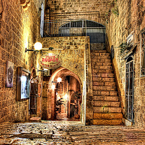 OLD JAFFA by Dong Joel - City,  Street & Park  Neighborhoods ( street&park, city )