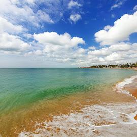 Praia de Arauá by Elias Rosal - Landscapes Prairies, Meadows & Fields ( praia, ilha, nature, natureza, itaparica, beach, bahia, brasil )