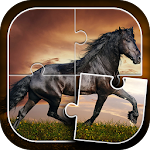 Horses Jigsaw Puzzle Game 2.3.1 Apk