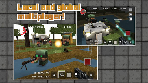 Block Fortress - screenshot
