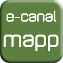 e-canalmapp North east icon