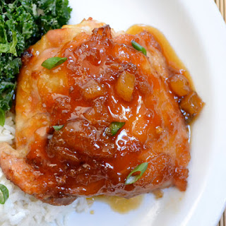 Pineapple Teriyaki Chicken Thighs
