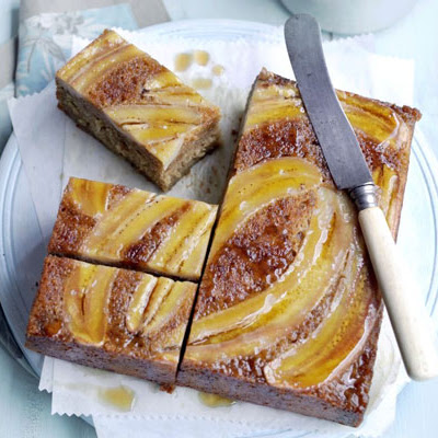Sticky Banana & Maple Cake