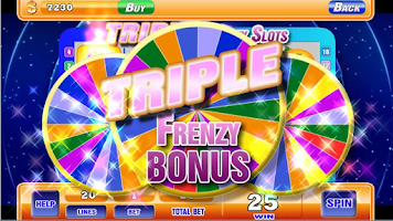 Screenshot of 777 Slots - Golden Wheel Slots
