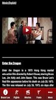 Screenshot of Ultimate Bruce Lee Videos