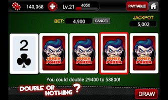 Screenshot of Video Poker Casino™