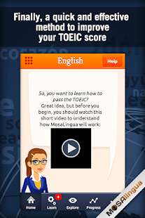 Learn TOEIC Vocabulary- screenshot thumbnail