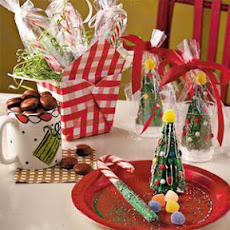 Candy Cane Swizzle Sticks