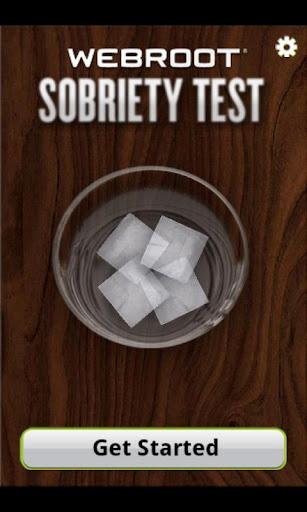 Webroot Sobriety Test