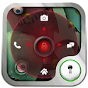 Go Locker Red Four Key Theme icon