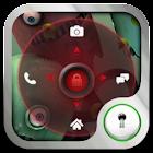 Go Locker Red Four Key Theme icon