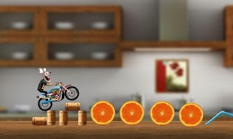 Screenshot of MotoCross Race - SuperBike
