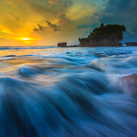 by Made Suwita - Landscapes Waterscapes ( bali, indonesia, wave, tanah lot, beach )