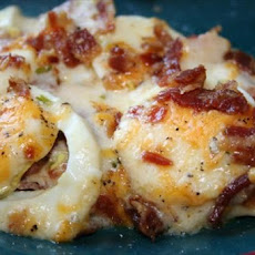 Scalloped Eggs and Bacon