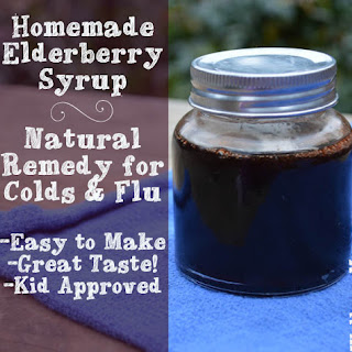 How to Make Elderberry Syrup for Flu Prevention
