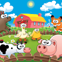 Farm animals for kids HD Lite icon