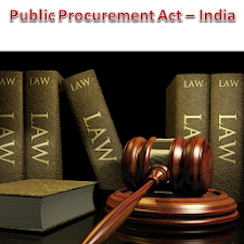 Public Procurement Bill -India