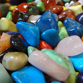 color of the stones by Pal Mori - Artistic Objects Other Objects ( colors, shine, bunch, stones, together )