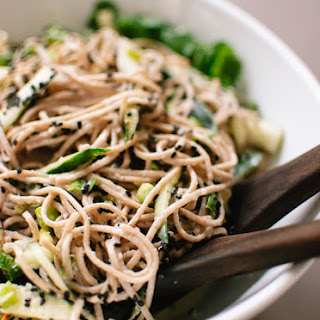 Sesame Soba Noodles Cucumber Recipes