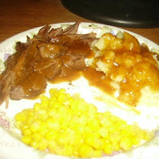 Roast Beef With Gravy