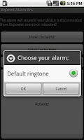 Screenshot of Ripcord Alarm Pro
