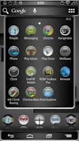 Screenshot of Bump Launcher Theme