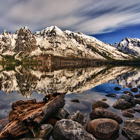 Jenny lake, Grand-Teton national park by Benoit Beauchamp - Landscapes Travel