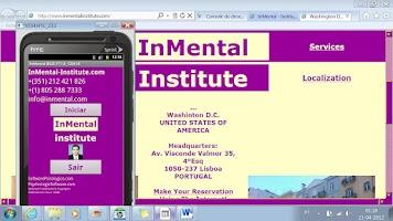 Screenshot of Software Psicología InMental
